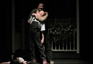 "JCF as Bob Ewell in ""To Kill a Mockingbird"""